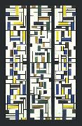Stained-Glass Composition IV. Theo van Doesburg