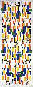 Colour design for a chimney Theo van Doesburg