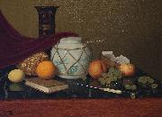 Still Life with Ginger Jar William Harnett