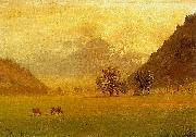 Rhone Valley Albert Bierstadt