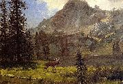 Albert Bierstadt Call Of The Wild Bierstadt