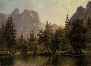 Cathedral Rocks, Yosemite Valley Bierstadt