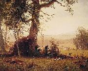 Guerrilla_Warfare (Picket Duty In Virginia) Albert Bierstadt