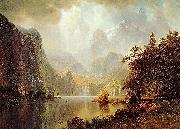In_the_Mountains Albert Bierstadt