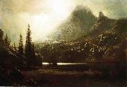 By_a_Mountain_Lake Bierstadt