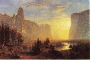 Yosemite Valley, Yellowstone Park Albert Bierstadt
