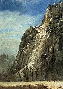 Cathedral Rocks, A Yosemite View Bierstadt