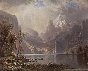 In the Sierras Albert Bierstadt