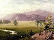 Albert Bierstadt Conway Meadows New Hampshire Bierstadt