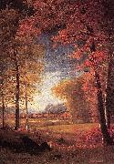 Autumn in America, Oneida County, New York Bierstadt