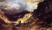 A Storm in the Rocky Mountains, Mr. Rosalie Bierstadt