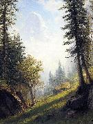 Among the Bernese Alps Bierstadt