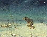 The lone Wolf Alfred de Dreux