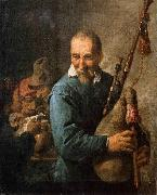 The Musette Player David Teniers the Younger