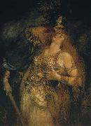 The Last Farewell of Wotan and Brunhilde Ferdinand Leeke