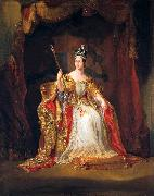 Coronation portrait of Queen Victoria George Hayter