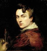 Self portrait of George Hayter aged 28, painted in 1820 George Hayter