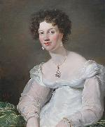 Mrs Ellen Robertson-Bruce painted in 1820 George Hayter