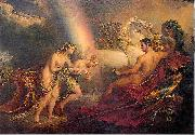 Venus, supported by Iris, complaining to Mars George Hayter