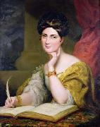 The Hon. Mrs. Caroline Norton, society beauty and author, 1832 George Hayter