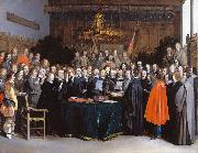 The Ratification of the Treaty of Munster, 15 May 1648 Gerard ter Borch the Younger