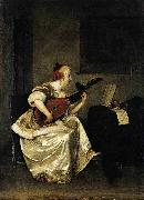 The Lute Player Gerard ter Borch the Younger