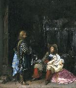 The messenger, known as The unwelcome news Gerard ter Borch the Younger