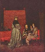 Paternal Admonition Gerard ter Borch the Younger