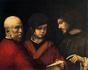 The Three Ages of Man Giorgione