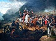 Battle of Somosierra. Horace Vernet
