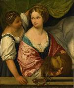 Judith with the head of Holofernes. Il Pordenone