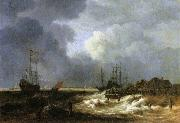 The Breakwater Jacob Isaacksz. van Ruisdael