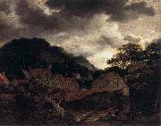 Village at the Wood's Edge Jacob Isaacksz. van Ruisdael