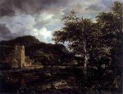 The Cloister Jacob Isaacksz. van Ruisdael