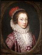 Portrait of a Woman Janssens van Ceulen