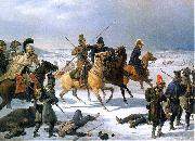 French retreat from Moscow in 1812 January Suchodolski