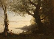 The Little Bird Nesters camille corot