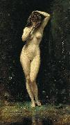 Diana Bathing camille corot