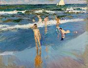 Children in the Sea Joaquin Sorolla Y Bastida