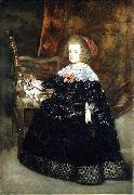 Portrait of Maria Theresa of Austria while an infant Juan Bautista del Mazo