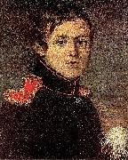 Portrait of Staff Captain E A Rotaev Kapiton Zelentsov