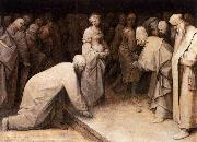 Christ and the Woman Taken in Adultery Pieter Bruegel
