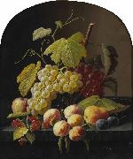 A Still Life with Grapes Severin Roesen