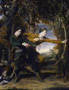 Colonel Acland and Lord Sydney, 'The Archers Sir Joshua Reynolds
