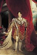 Coronation portrait of George IV Sir Thomas Lawrence