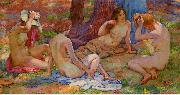 Four Bathers Theo Van Rysselberghe