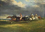 The 1821 Derby at Epsom Theodore Gericault