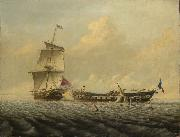 Action between HMS Thomas Baines