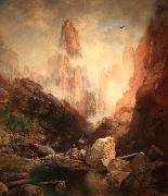 Mist in Kanab Canyon Thomas Moran