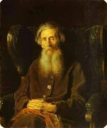 The Portrait of Vladimir Dal Vasily Perov